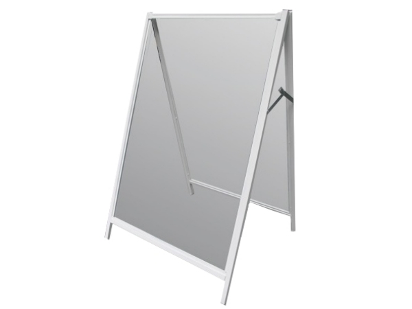 Exchangable coreflute & steel standard A-Frame (900mm x 600mm)